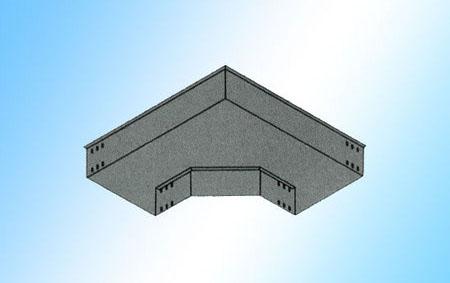 C型弯通桥架